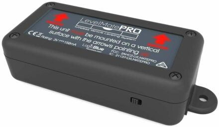 The LevelMatePRO is a small bluetooth device for leveling your RV