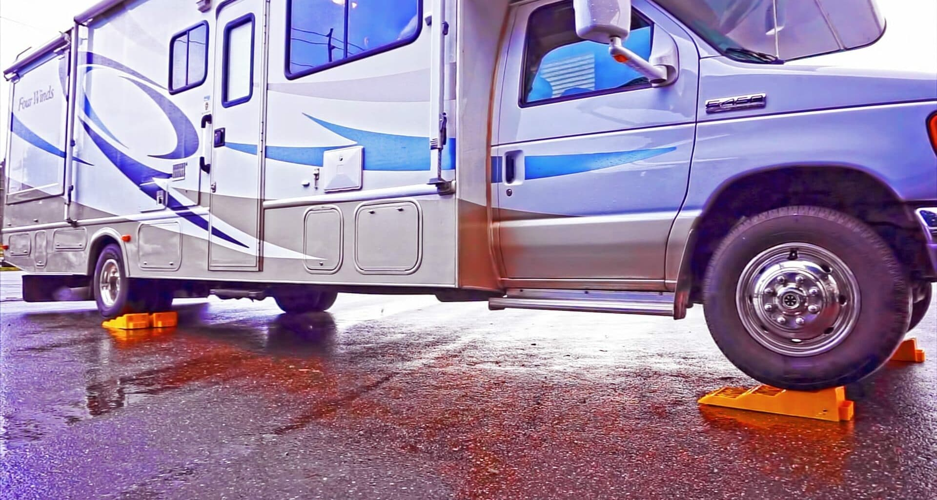 RV Leveling Pads