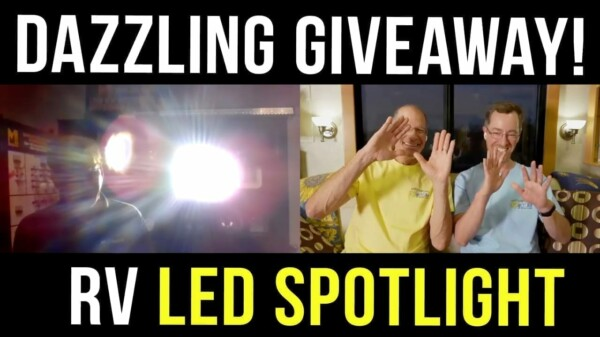 What Are RV LED Lights? Plus a $250 Giveaway and 10% LED Discount!