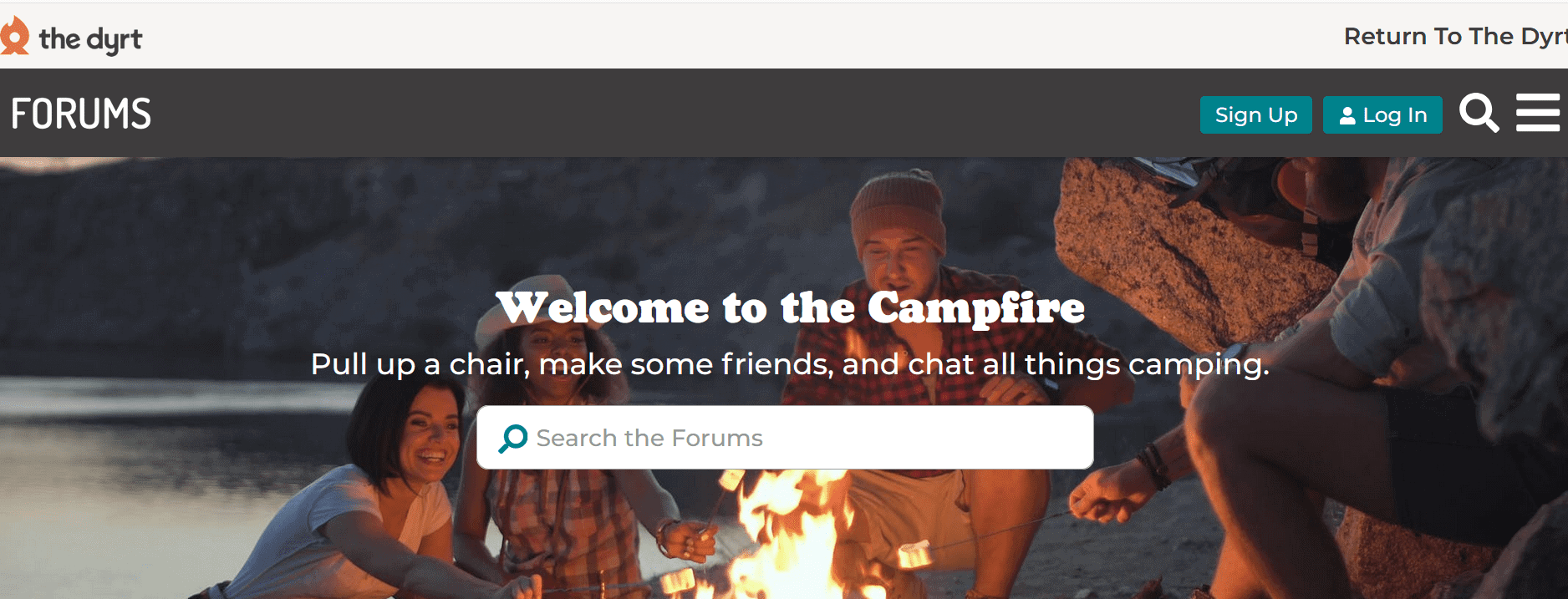 The Dyrt is the #1 camping app