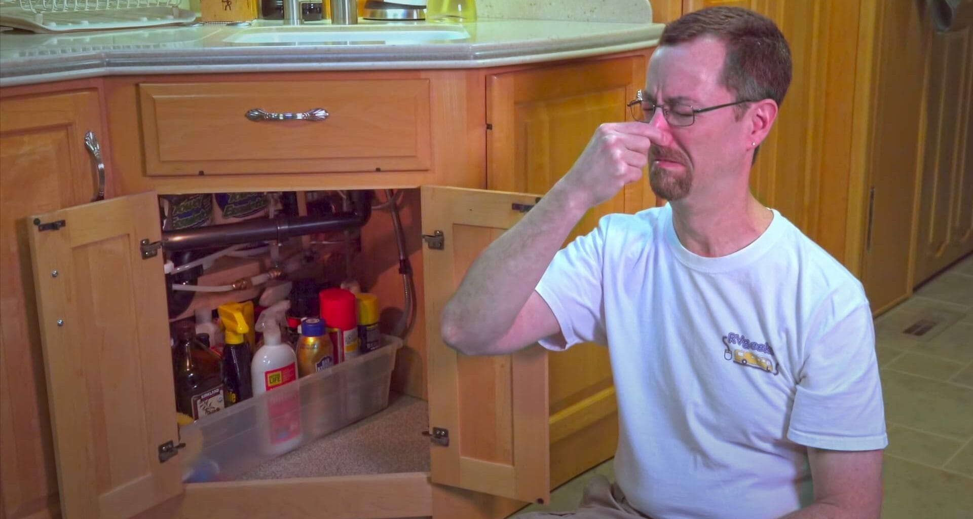 Failure of air admittance valves in your RV's plumbing can cause odors in your RV