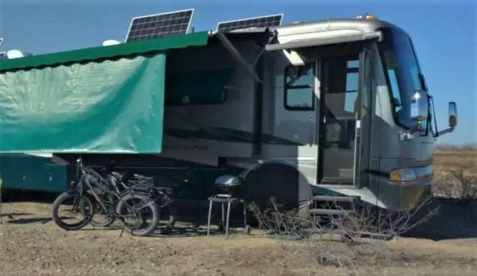RV doors can degrade from use and travel.
