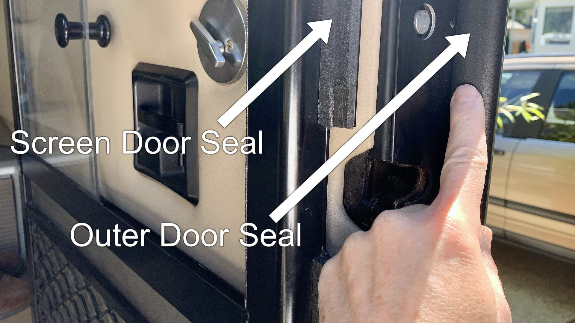 Monitoring & maintaining your RV door seals