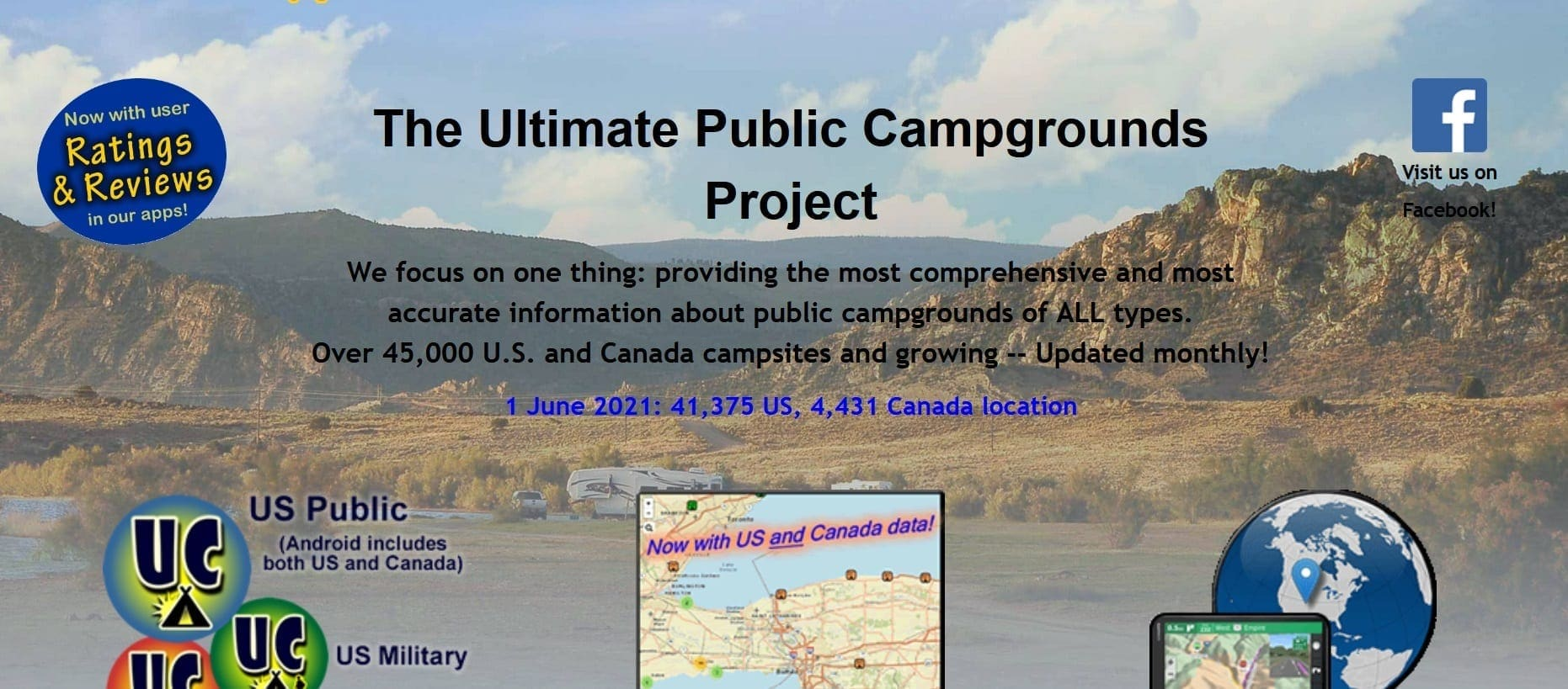 Ultimate Campgrounds free camping app