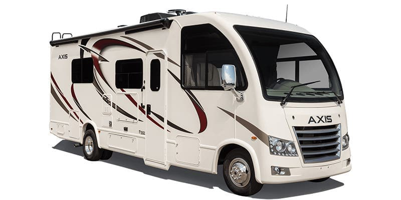 Thor Axis is the smallest of small motorhomes in the Class A category.