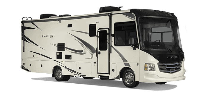 The Jayco Alante is one of several small motorhomes in the Class A market.