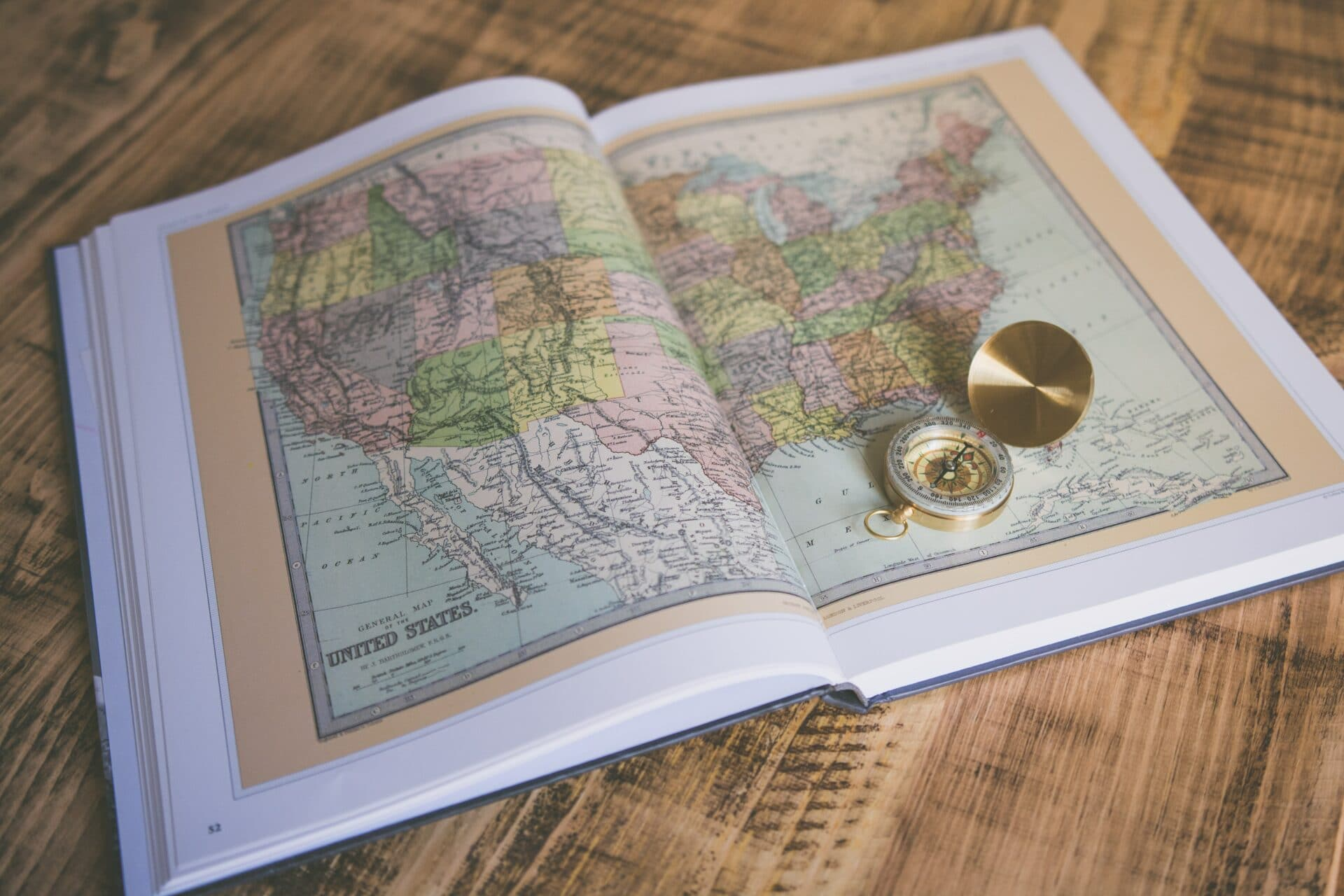 Book of maps for offline trip planning