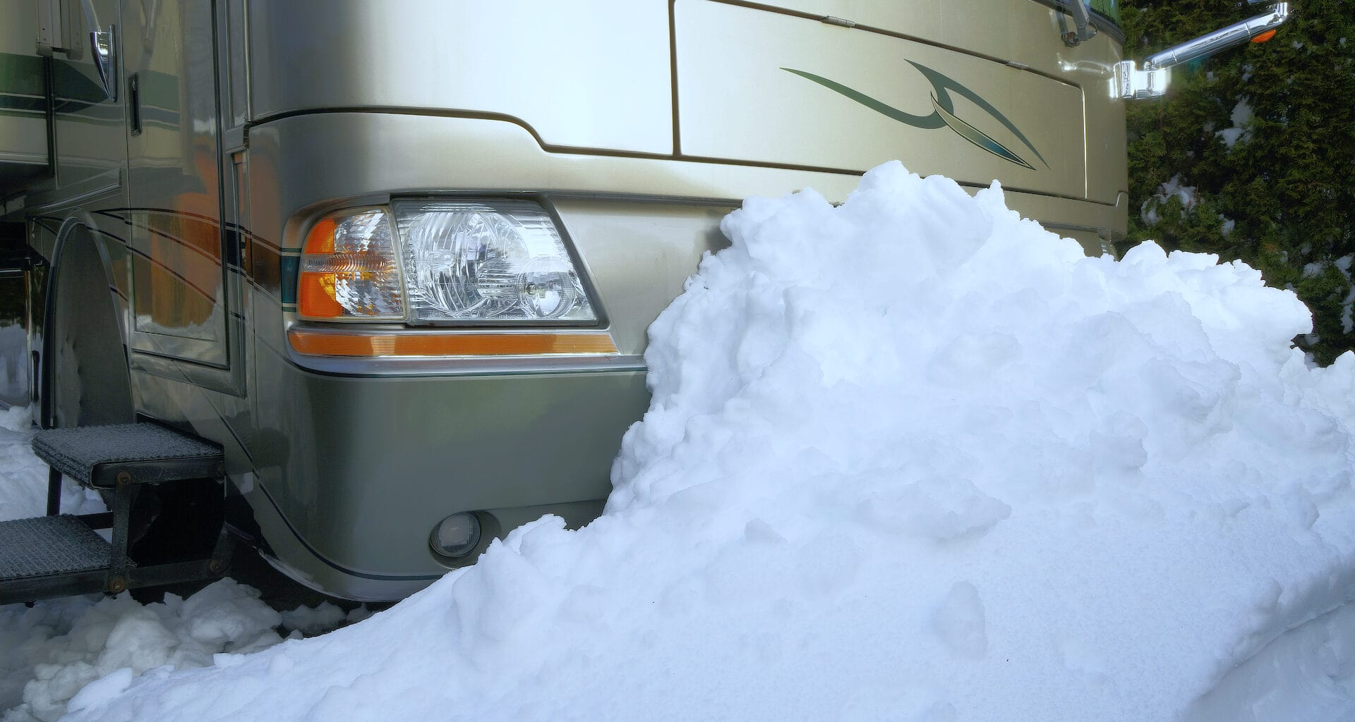 Use these tips for your next winter RV camping trip... and stay warm and cozy
